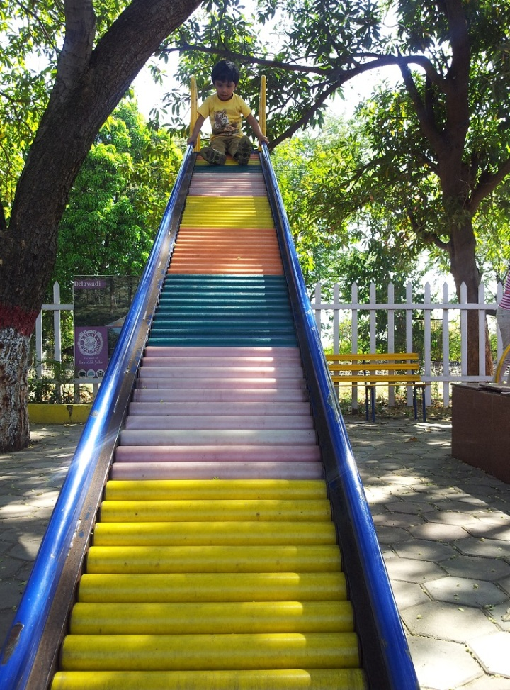 Colorful Slides near Bhimbhetka Caves